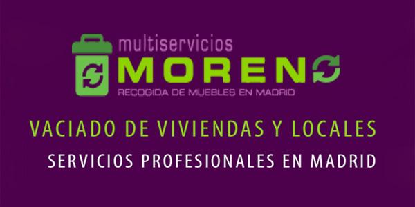 Recogida de Muebles Multiservicios Moreno en Madrid - Guia ...