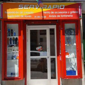 Material Fontaneria Servirapid En Paseo De Extremadura