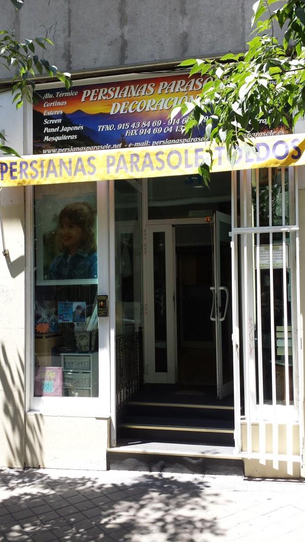 Persianas parasole en moncloa guia comercial madrid for Oficinas en moncloa