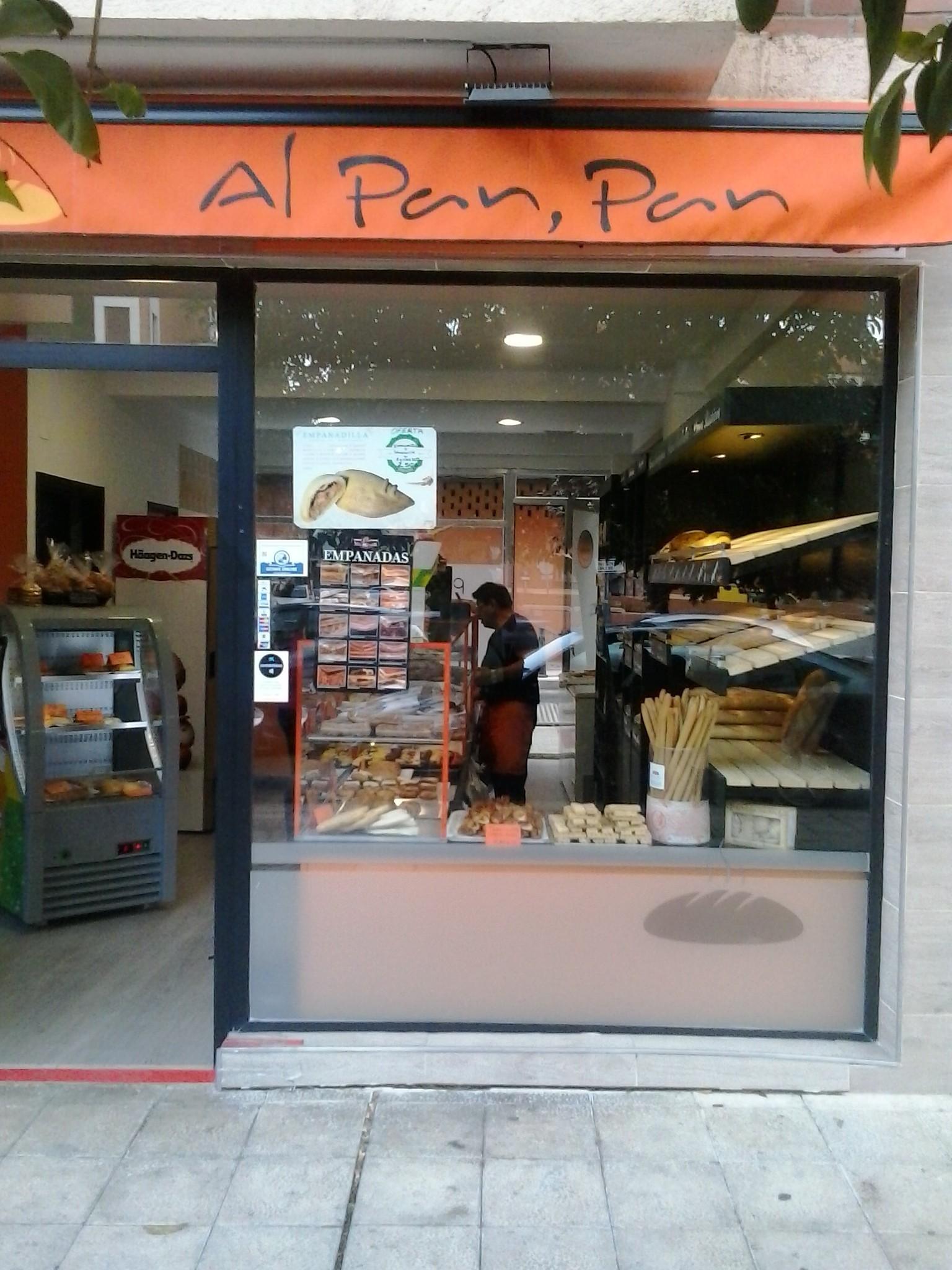 Panadería celíacos Al pan, pan en Getafe