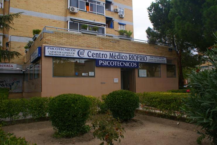 Psicotécnicos Centro Médico Riofrío en Carabanchel - Guia