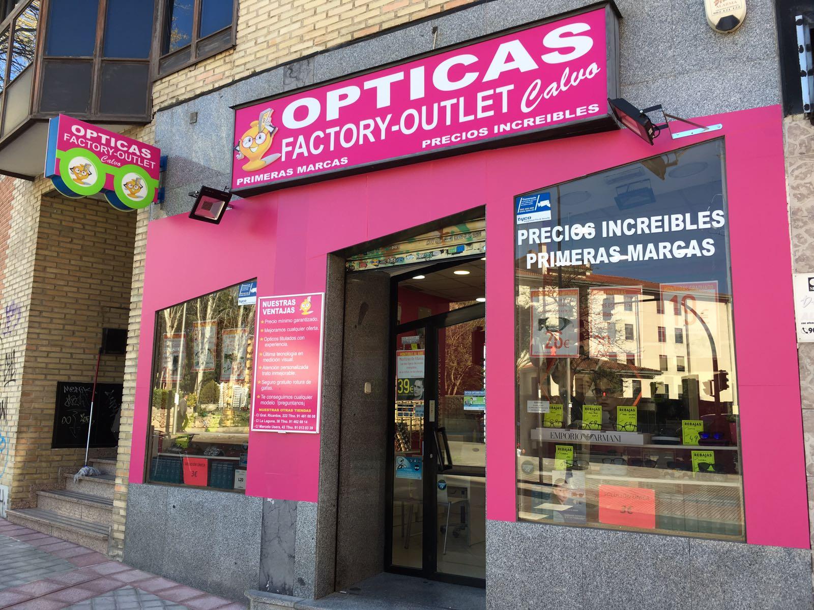 ad182a12eb Ópticas Factory-Outlet en Carabanchel - Guia Comercial Madrid